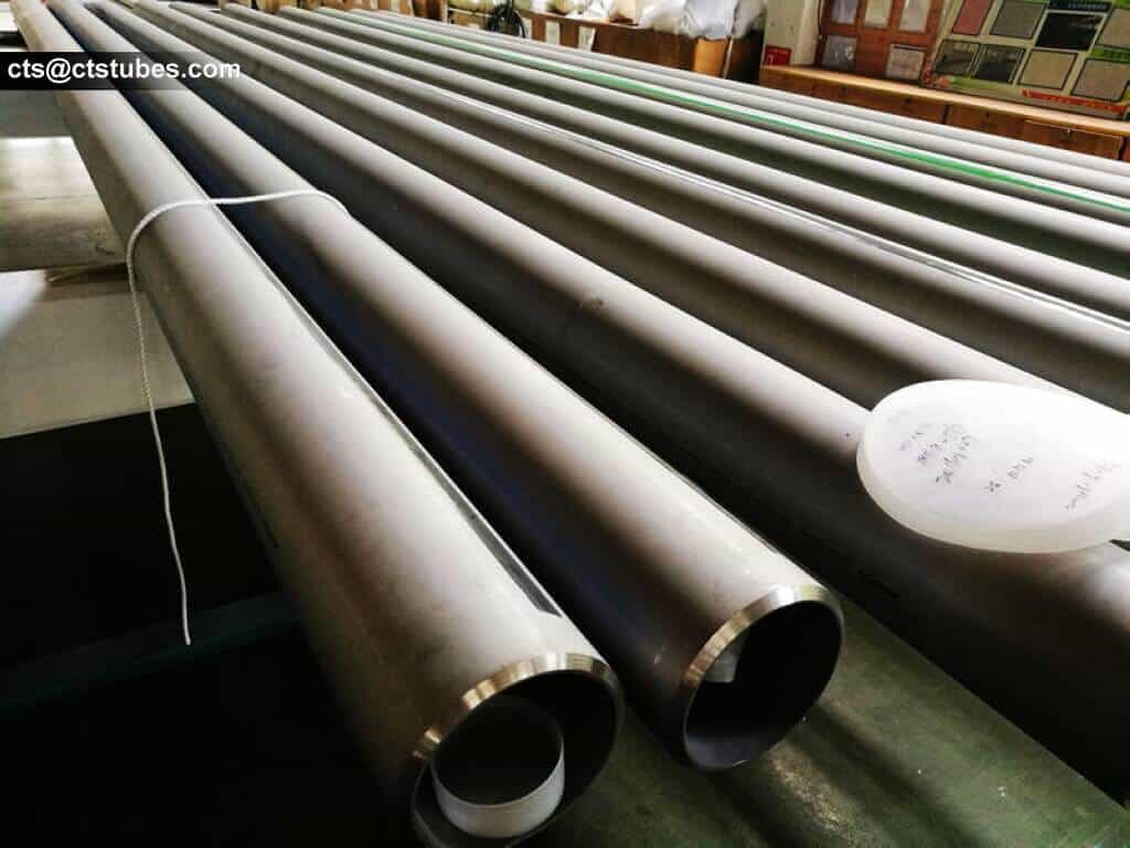 stainless steel welded tubes with beveled ends