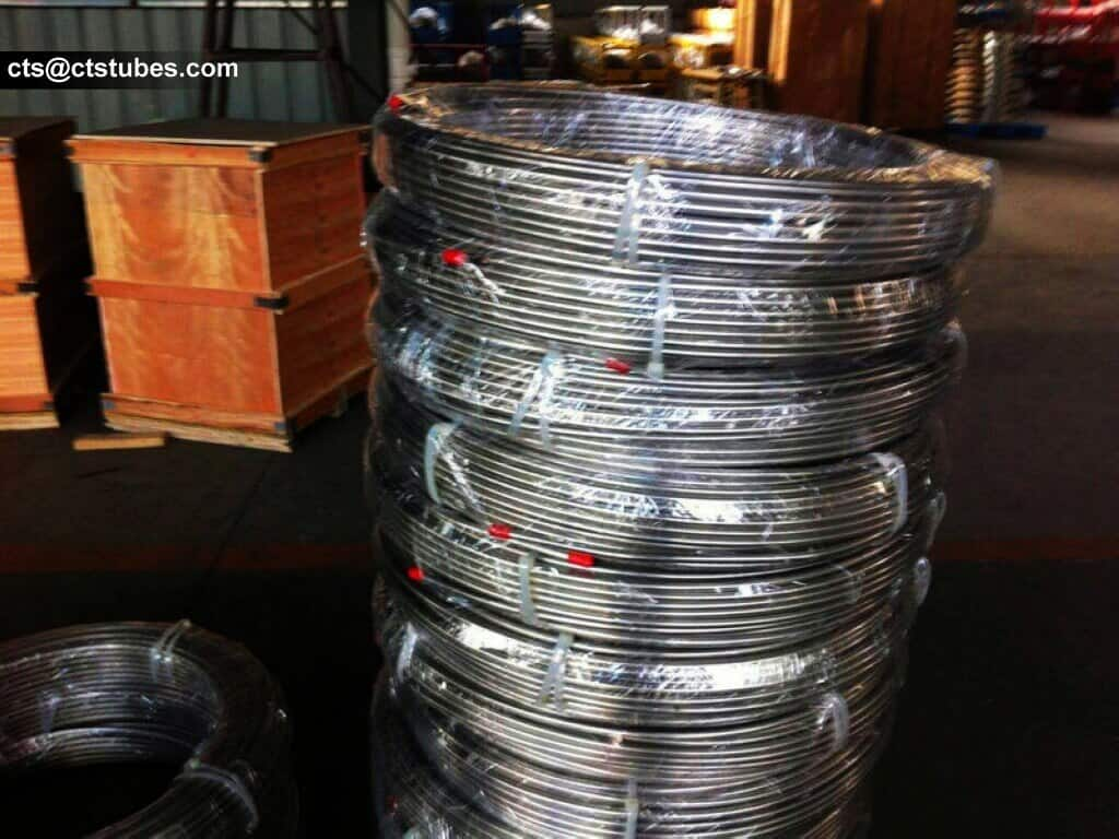 stainless coil tubes