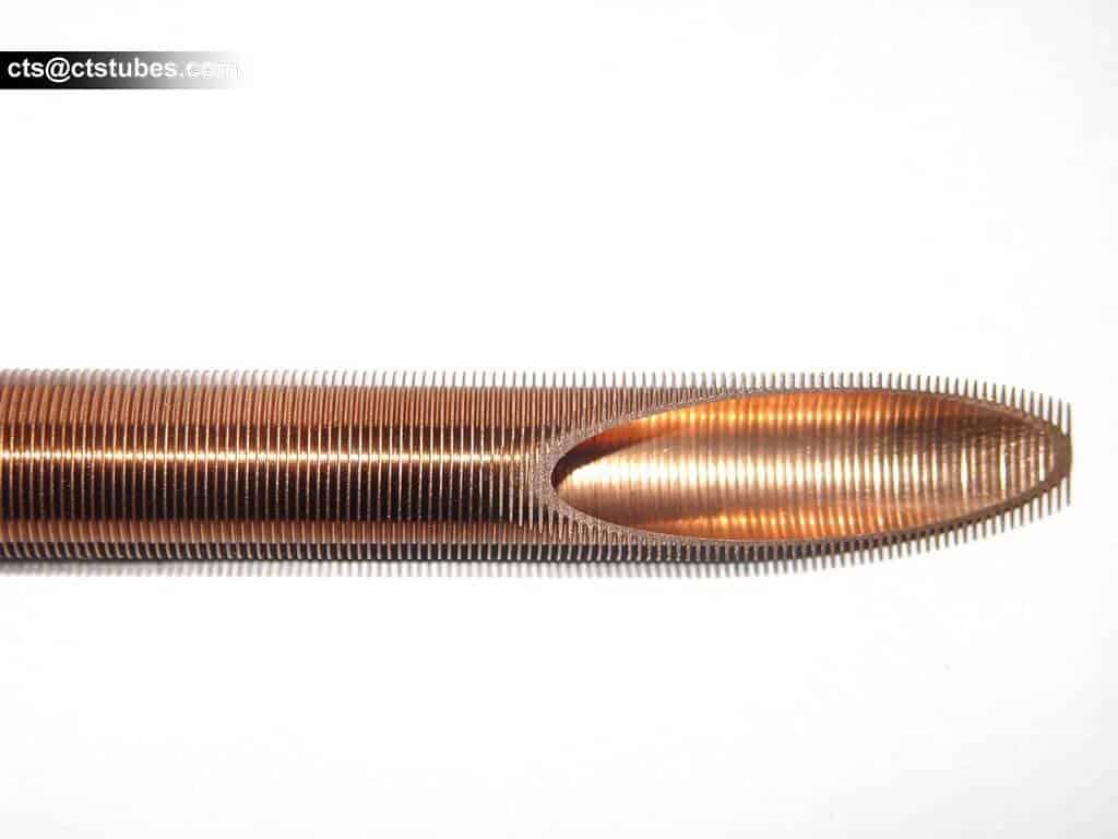 brass fin tube for heat exchanger