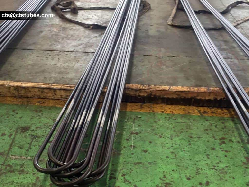 long u-bent / u-bend / u-bending tubes with small outside diameter