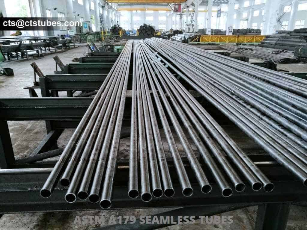 ASTM A179 ASME SA179 Seamless Cold Drawn Tubes Ready for Inspection