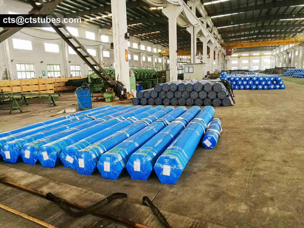 ASTM A179 ASME SA179 Seamless Cold Drawn Tubes Packages