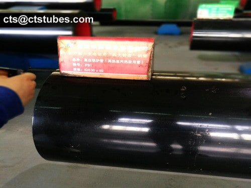 ASTM A335 ASME SA335 Seamless Alloy Pipes Inspection