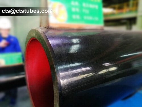 P91 ASTM A335M ASME SA335M Seamless Alloy Pipes Inspection