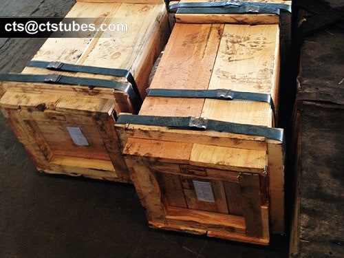 ASTM A335 ASME SA335 Seamless Alloy Pipes in Wooden Cases
