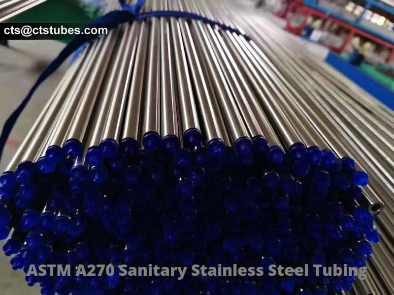 A270 Sanitary Stainless-steel Tubing