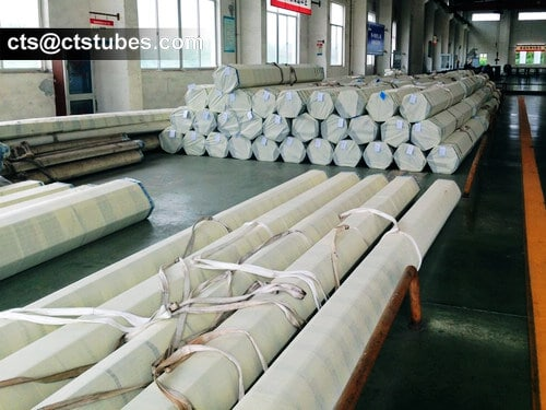 ASME SA213 Stainless Steel Tubes PE Fabric Bundles