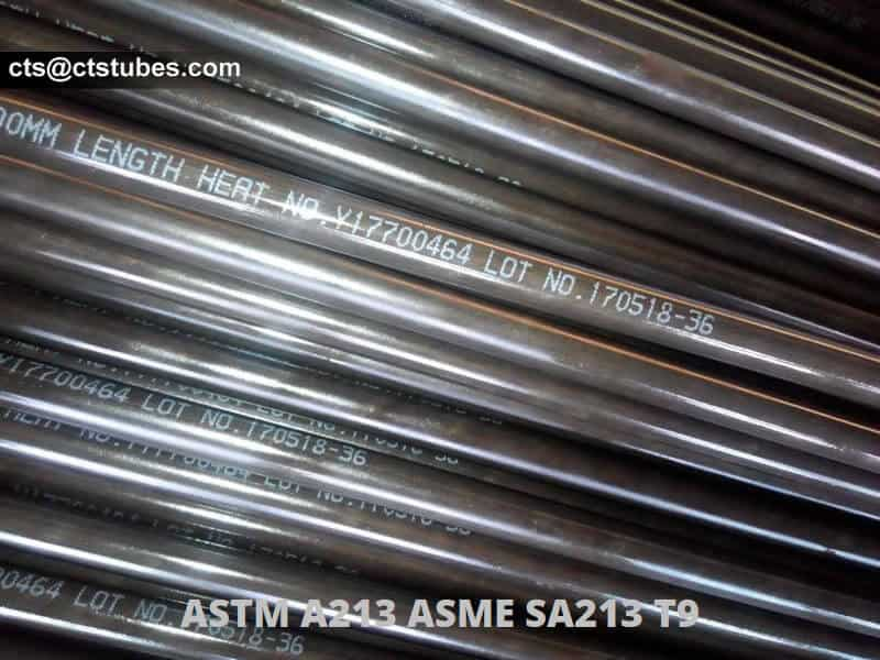 ASTM A213 T9 seamless alloy tubes