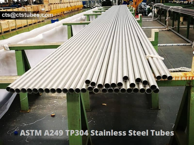 ASTM A249 TP304 stainless steel tubes