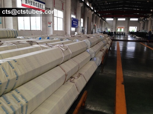 ASTM A269 Stainless Tubes Stock in the warehouse