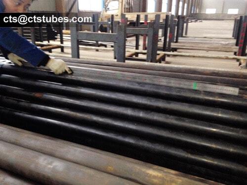 ASTM A335 P1 Seamless Alloy Tubes Length Measuring