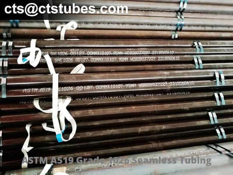 ASTM A519 Grade 1026 OD127 marking