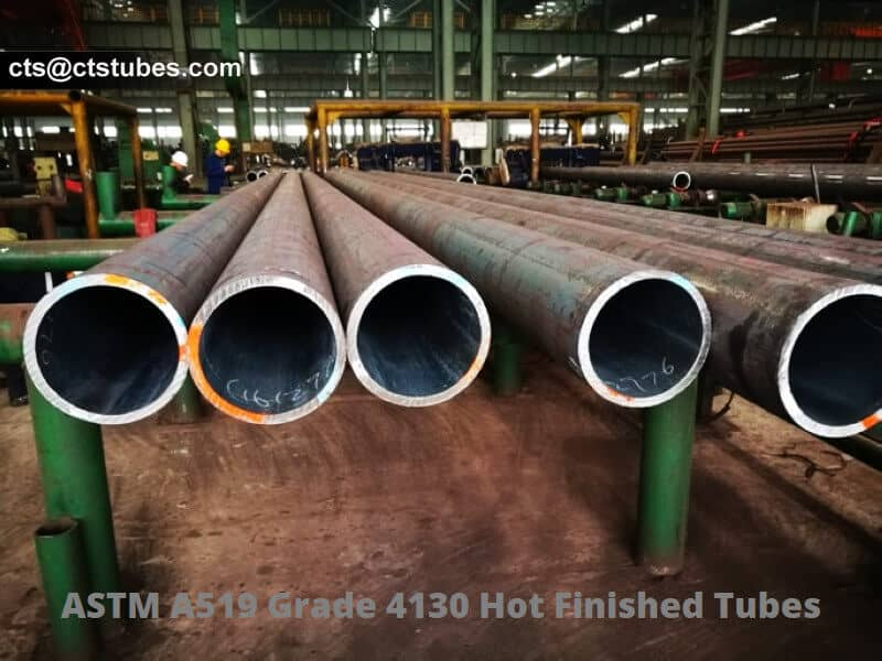 ASTM A519 Grade 4130 Hot finished Tubes