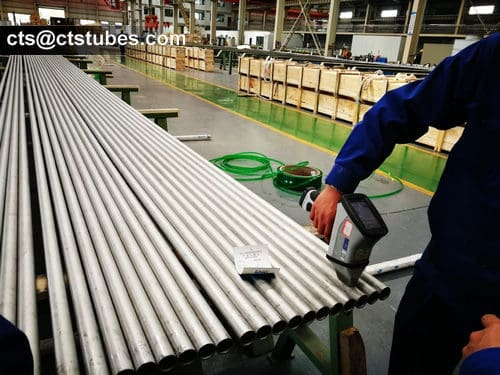 ASTM A789 S32750 Stainless tubes