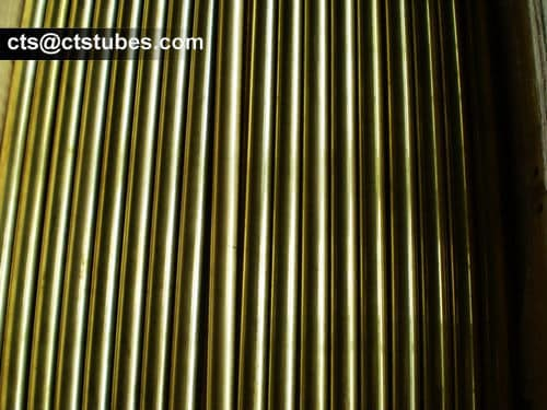 ASTM B111 C44300 Cooper and Brass Tubes