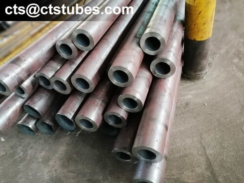 DIN17175 10CrMo910 Seamless Tubes fixed length cutting