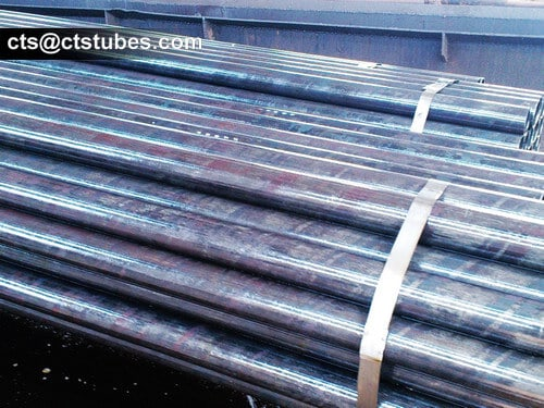 DIN17175 15Mo3 Seamless Tubes drying after anti-rust oiled