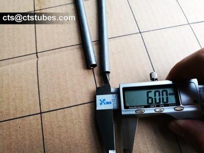 EN10305-1 E235 NBK Tubes Size ID measuring
