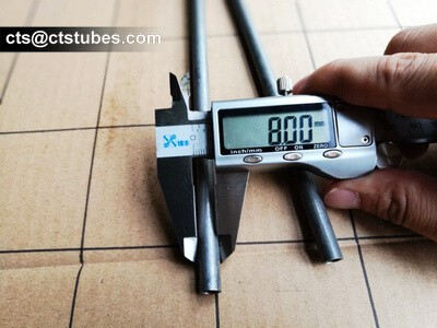EN10305-1 E235 NBK Tubes Size OD measuring