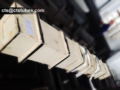 EN10305-1 E355 NBK Tubes Wooden Case