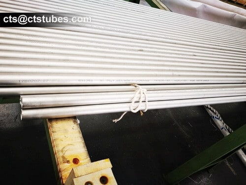 S31254 stainless tube inspection the surface