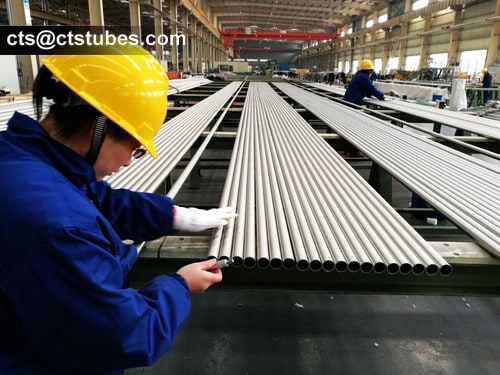 S31254 stainless tubes thickness inspection
