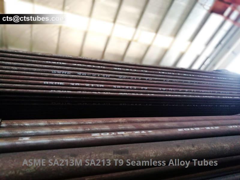 ASME SA213M SA213 T9 Seamless Alloy Tubes