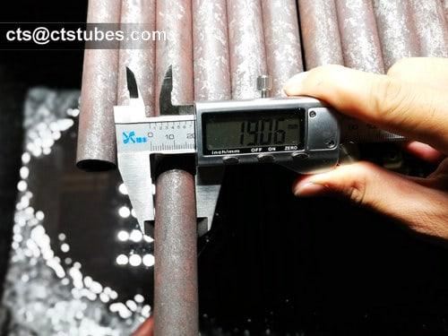 ASME SA213M Tubes OD measuring
