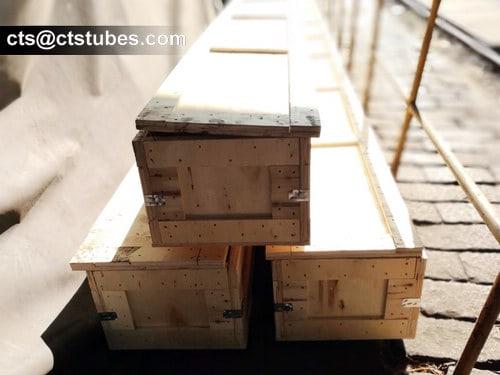 ASME SA213M Wooden Box Package