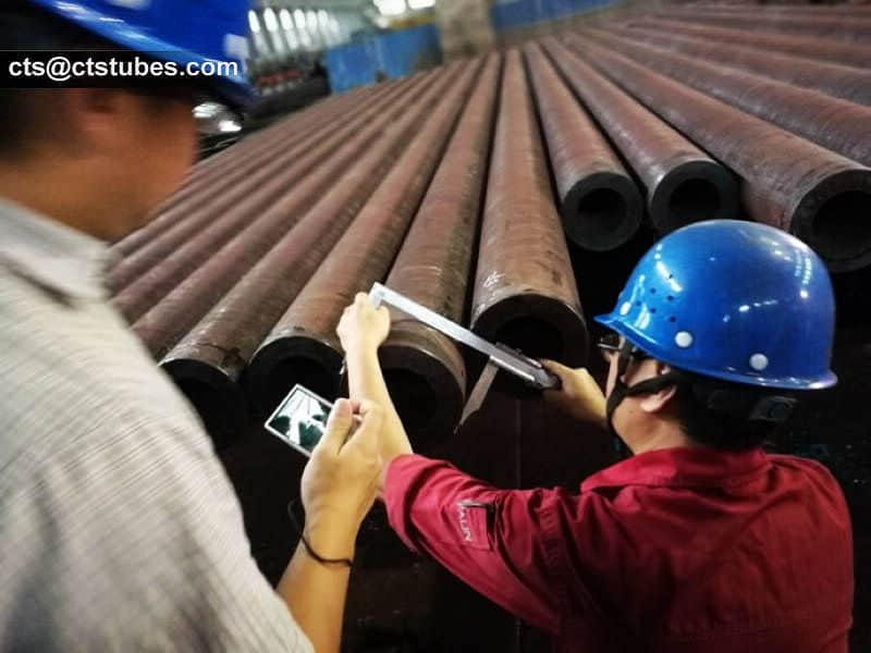 ASTM A333 GR.6 Pipes Third Party Inspection By SGS people.