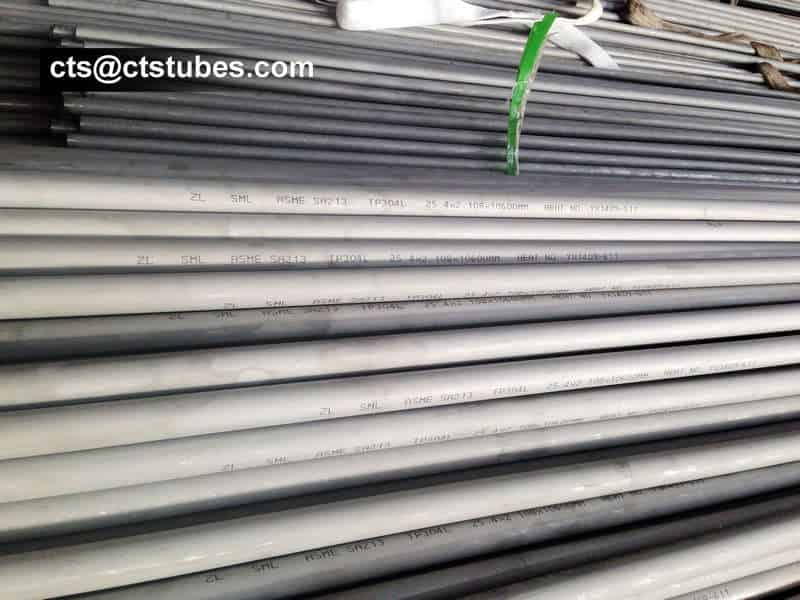 ASME SA213 TP304L Seamless Stainless-steel Tubes