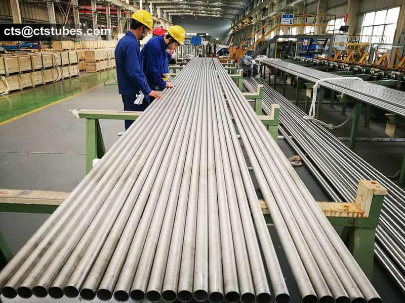 ASTM A789M UNS 31803 duplex stainless tubes
