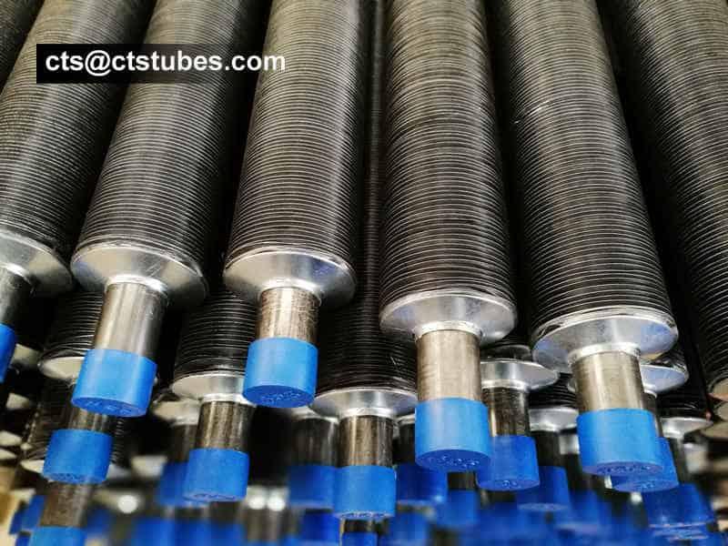 A179 Aluminum Embedded Aluminum Fin Tubes