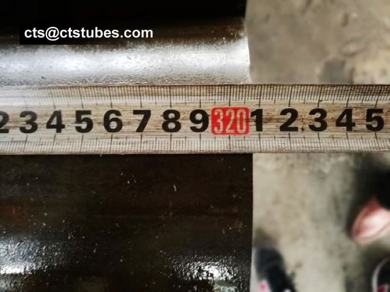 DIN2391 ST52 Seamless cold drawn pre-honed pipe Length inspection