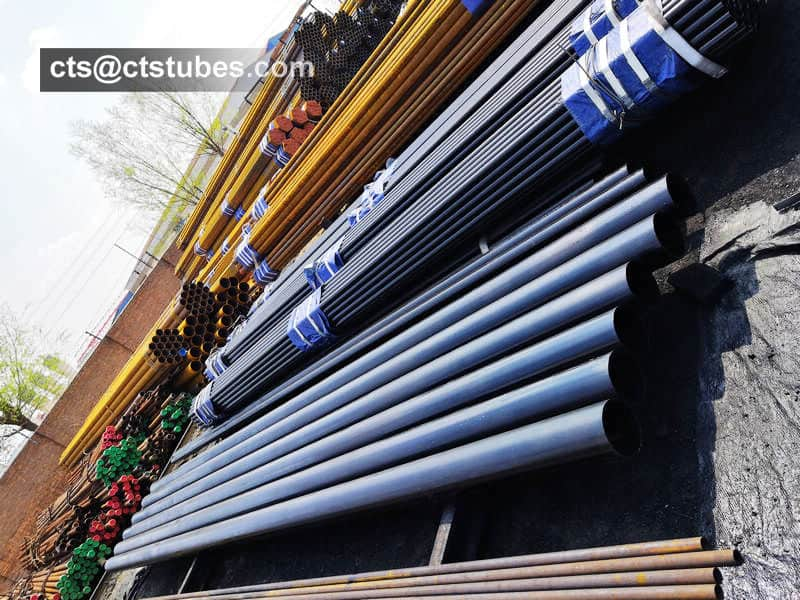ASTM A106 GR.B pipes for loading