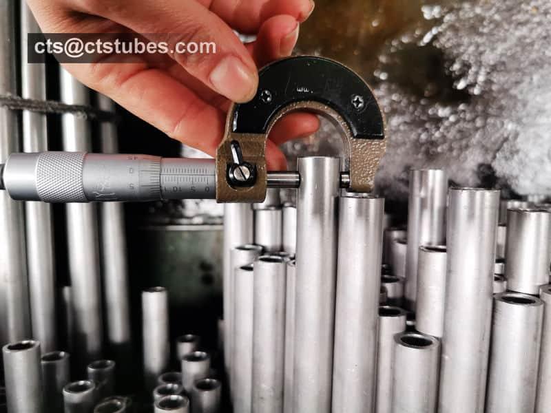 STKM 11A Seamless Steel Tube OD Inspection