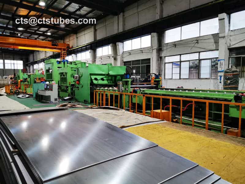 ASTM A240 Stainless Plate Cutting Mill