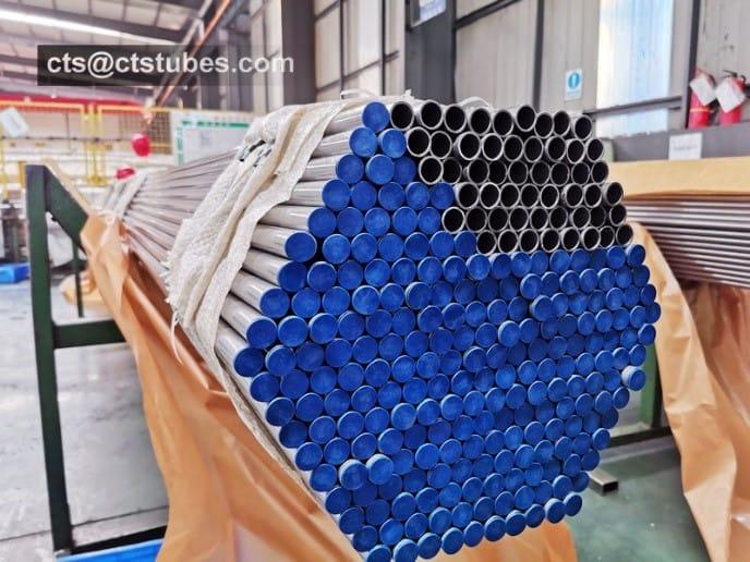 E235+N tube packaged in bundles