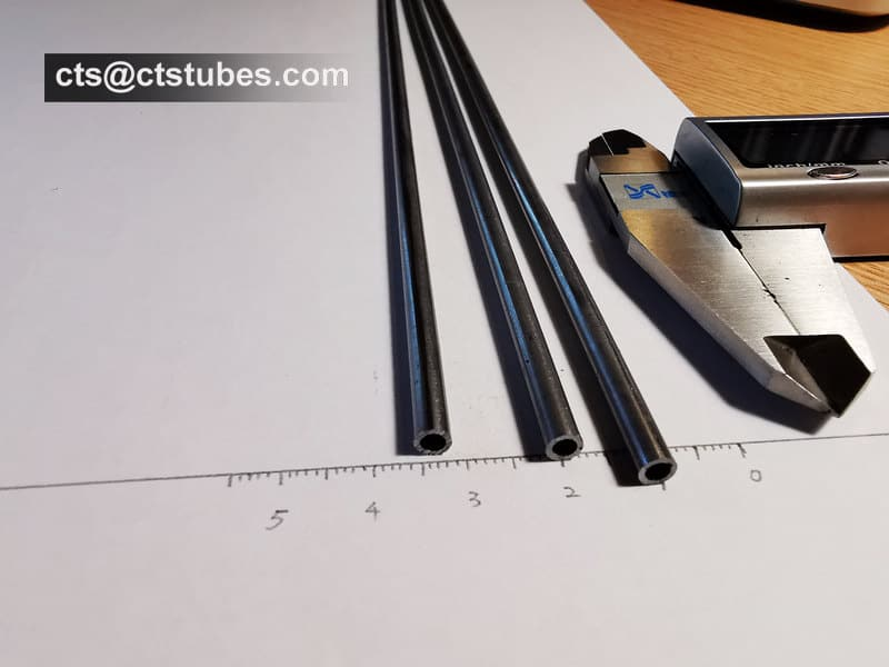 ISO8535-1 Seamless Precision Tubes Fuel Injection Pipes