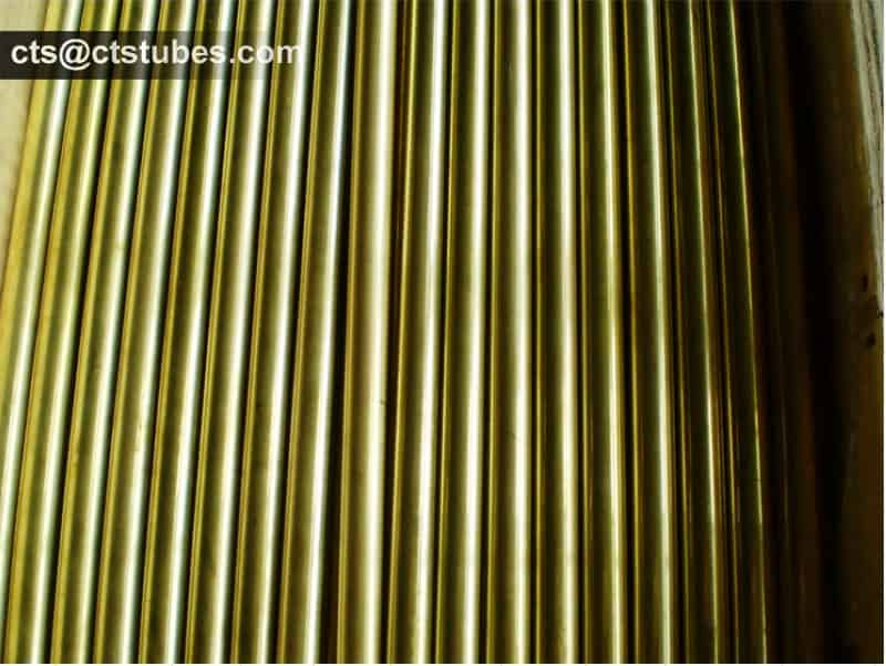 Aluminum Brass Tubes C68700 CuZn20Al2 CZ111 Package