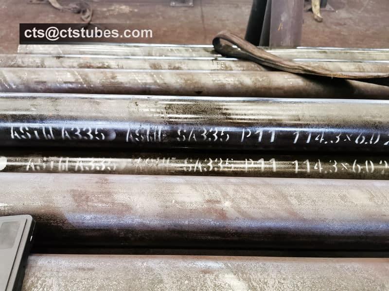 ASME SA335 P11 Seamless Pipes 114.3