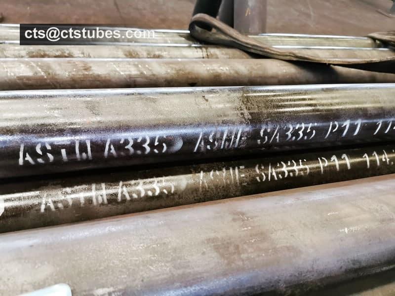ASME SA335 P11 Seamless Pipes Marking