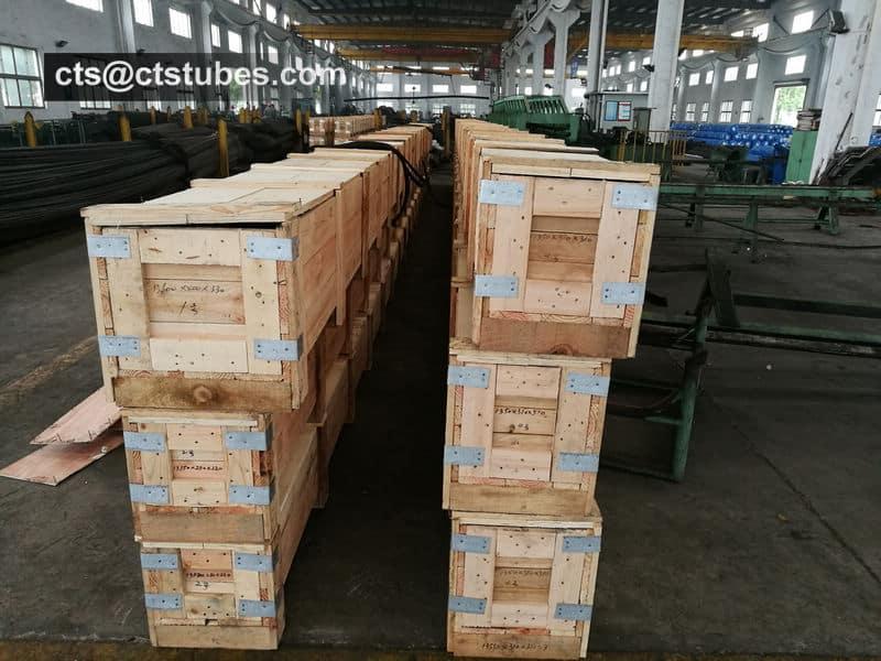 ASME SA335 P11 Seamless Pipes Wooden Box