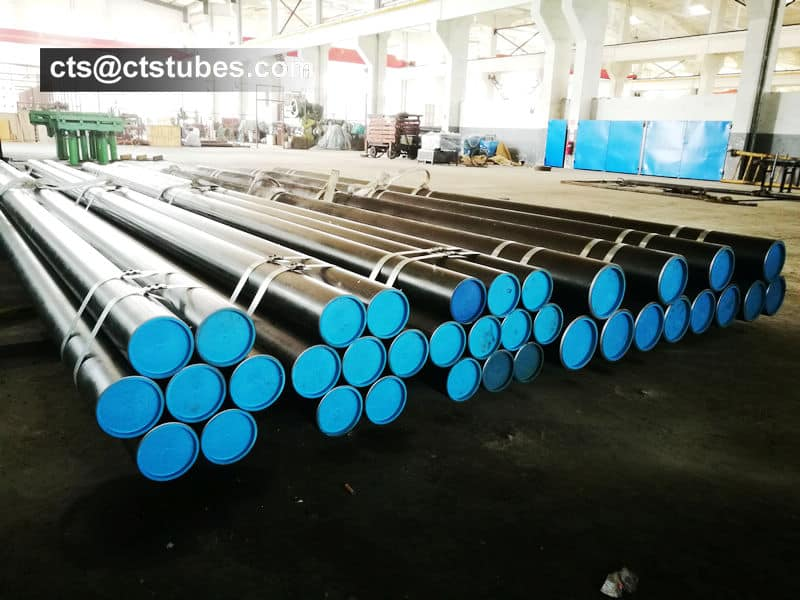 ASTM A213 T11 Seamless Alloy Tubes Package