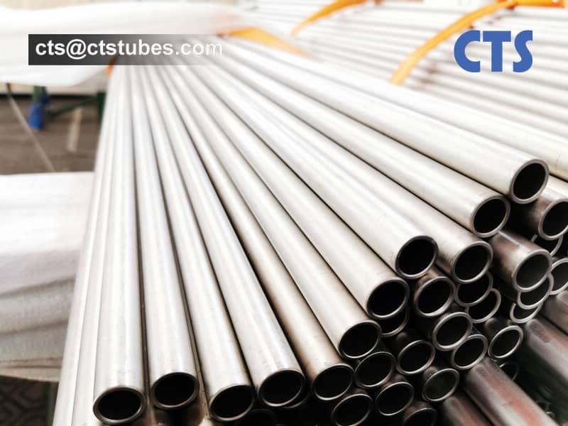 ASTM B861 ASME SB861 Gr.1 Titanium Tubes Size Inspection
