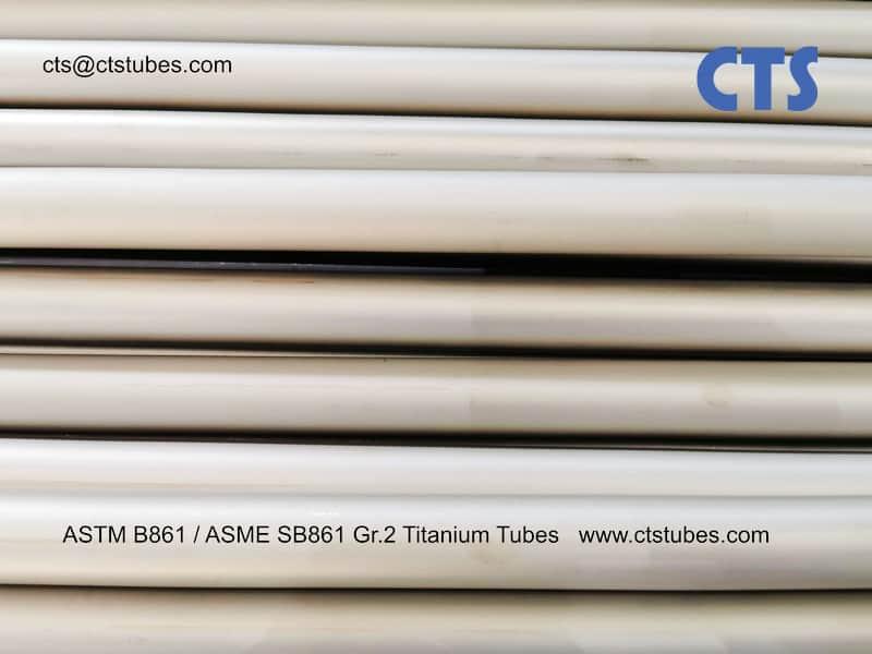 ASTM B861 _ ASME SB861 Titanium tubes