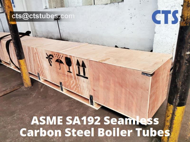 SA192 Seamless Boiler Tube Wooden Box Package