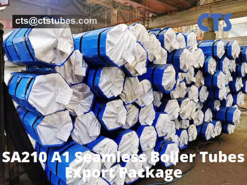 SA210 A1 Seamless Boiler Tubes Export Package