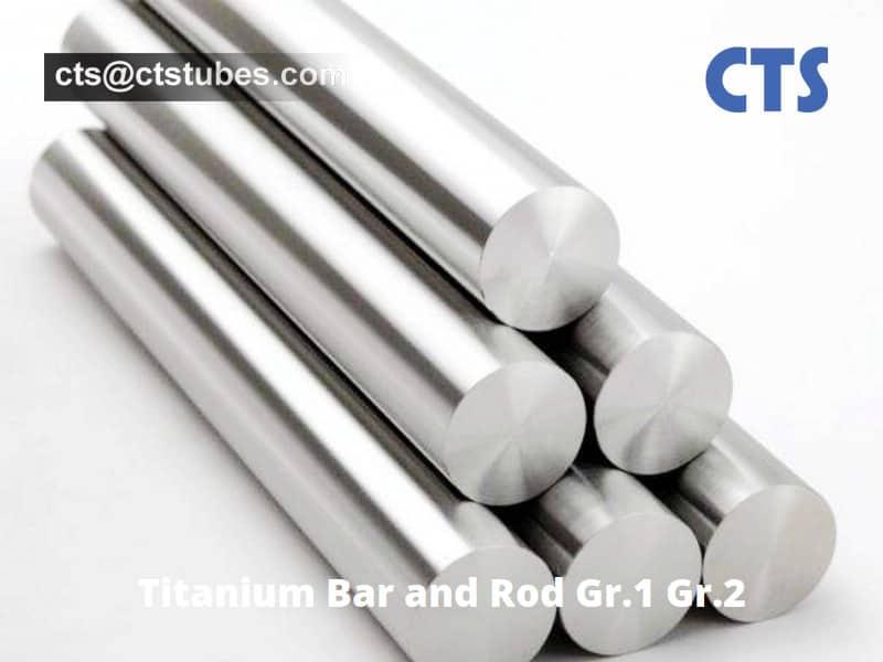 Titanium Bar and Rod Gr.1 Gr.2