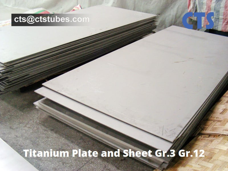 Titanium Plate and Sheet Gr.3 Gr.12